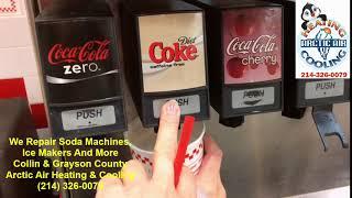 Soft Drink And Soda Machine Repair McKinney, Frisco, Allen, Sherman, Plano Grayson And Collin County