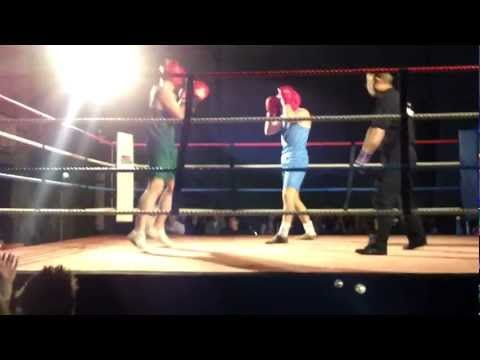 Queens Vs UUJ Fight Night 2011 - Ronan McNamee vs Mickey Smith 1080p