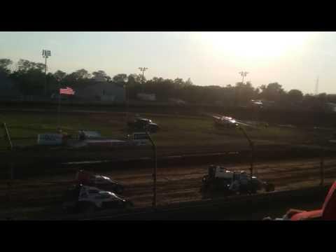 Sprint Car Heat 3  Kokomo Speedway