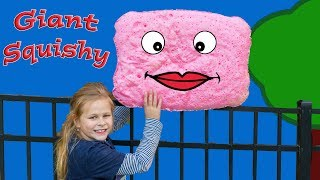 Making the Worlds Largest Squishy The Assistant Squishy Making Science Experiement thumbnail