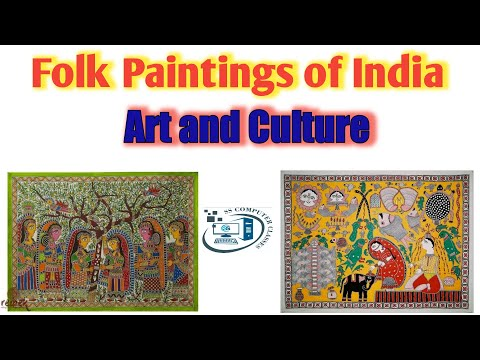 Folk Paintings Of India || Art and Culture || GK Classes