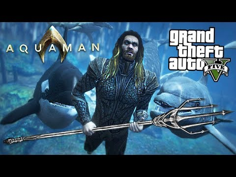 ULTIMATE AQUAMAN MOD w/ Atlantis Underwater City! (GTA 5 Mods) thumbnail