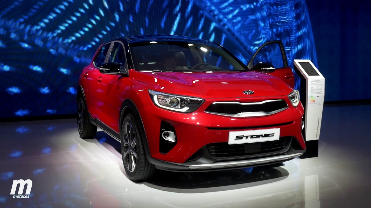 kia stonic | salón de frankfurt | review - youtube