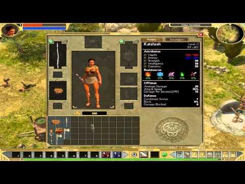 Titan Quest Walkthrough Part 1