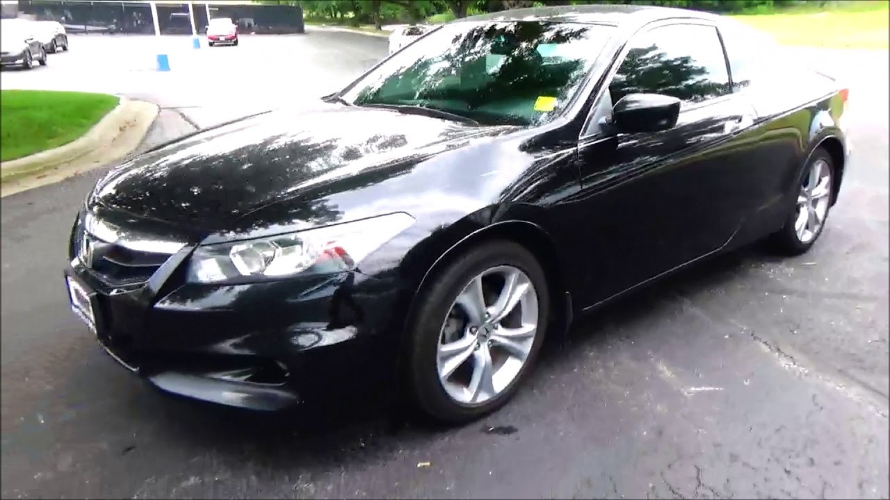 Honda Coupe For Sale >> Used 2012 Honda Accord Coupe Ex L V6 For Sale At Honda Cars Of Bellevue An Omaha Honda Dealer