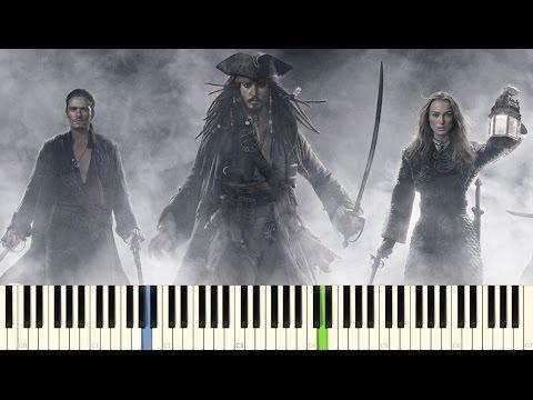 Фортепиано. Ost. Пираты карибского моря. Полная версия