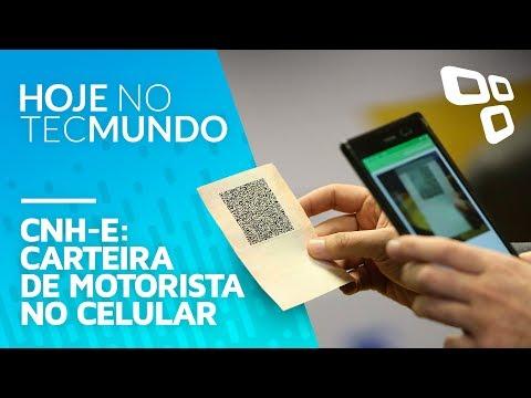CNH-e: carteira de motorista no celular - Hoje no TecMundo