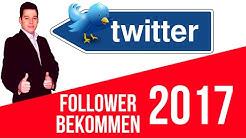 Twitter Follower bekommen - KOSTENLOS