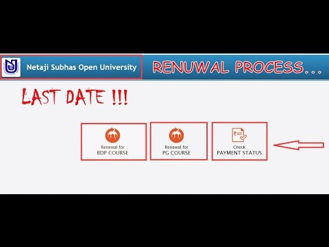 NETAJI SUBHASH OPEN UNIVERSITY