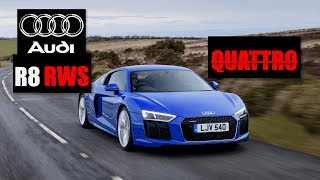 homepage tile video photo for Audi R8 RWS Review: The Rear-Wheel Drive Audi Supercar - Inside Lane