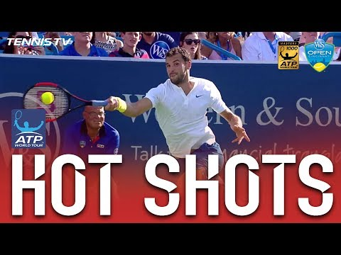 Dimitrov Pummels Forehand Hot Shot In Cincinnati Final