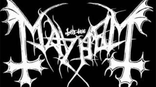 Mayhem - Deathcrush ( Instrumental Cover )