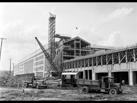Rare Unseen Pics of The Pentagon Building Construction
