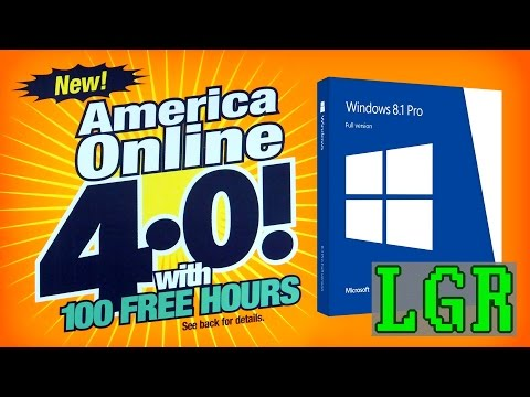 LGR - Classic AOL on Modern Windows