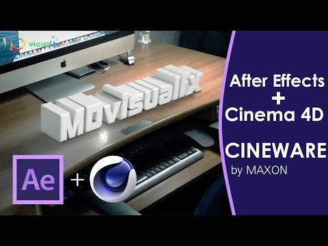 After Effects + Cinema 4D [CINEWARE] - Tutorial