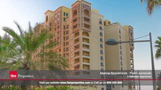 Palm Jumeirah - Marina Residence 3: Luxury 2 Bedroom Apartment for Rent in Dubai