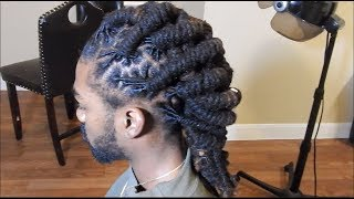 How to Retwist & Style!! (Barrel Twist)