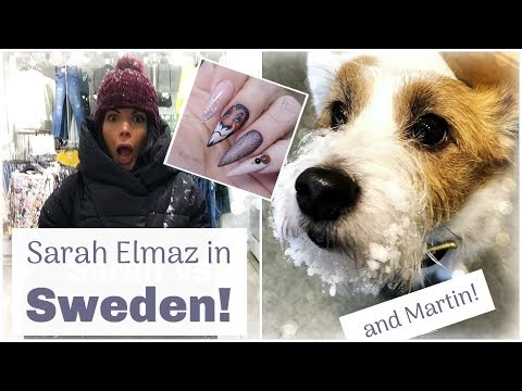 "Vlog | SARAH ""GETBUFFEDNAILS"" ELMAZ COMES TO SWEDEN!! 