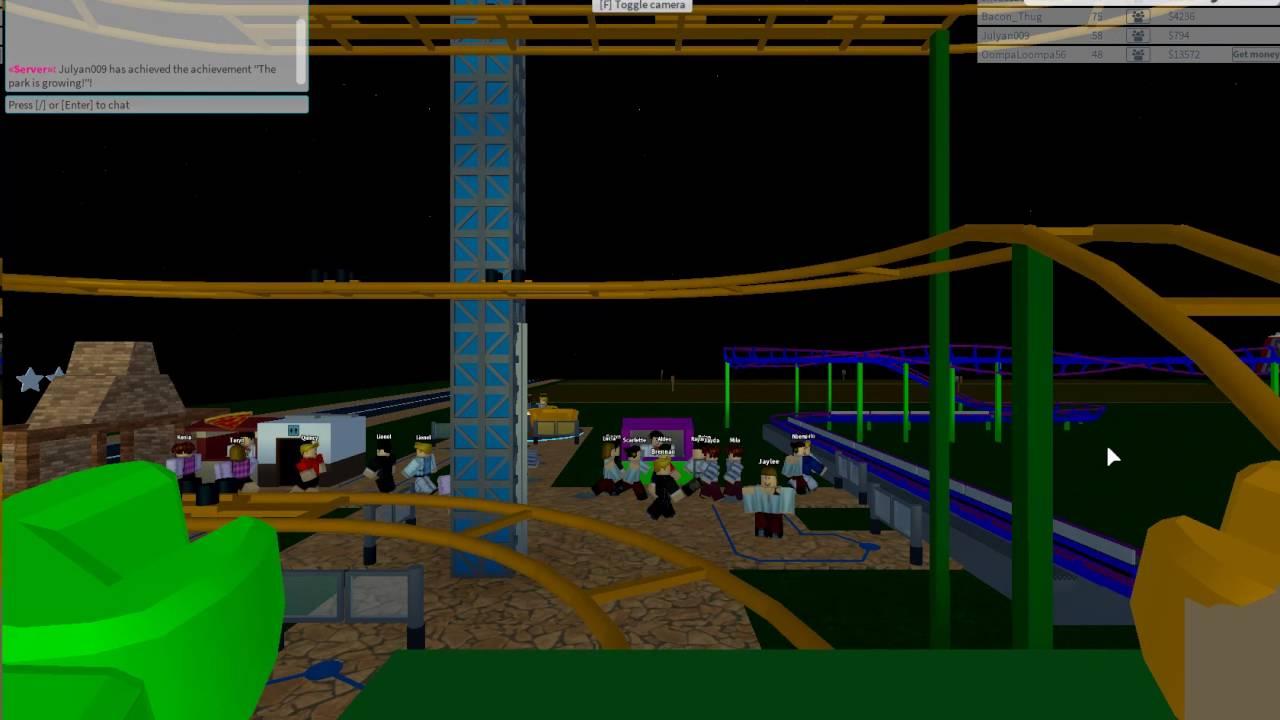 Roblox Dantdm The Animator Vgcp Highway Madness Pov At Theme Park