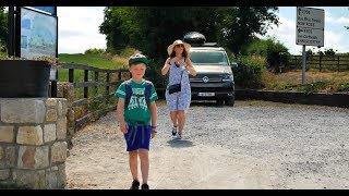 V105 - Trip to Borris Viaduct and Milford Weir in Carlow in our VWT6