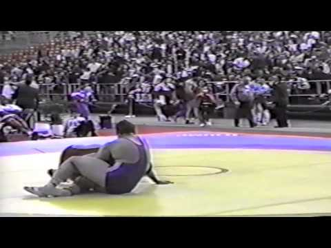 1994 World Cup: 130 kg Bruce Baumgartner (USA) vs. Gennadi Shiltsov (RUS)