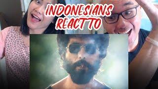 Indonesians React To Kabir Singh Teaser   Shahid Kapoor, Kiara Advani   Sandeep Reddy Vanga