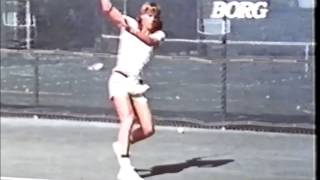 Tennis Legends playing in Australia (end '70s)