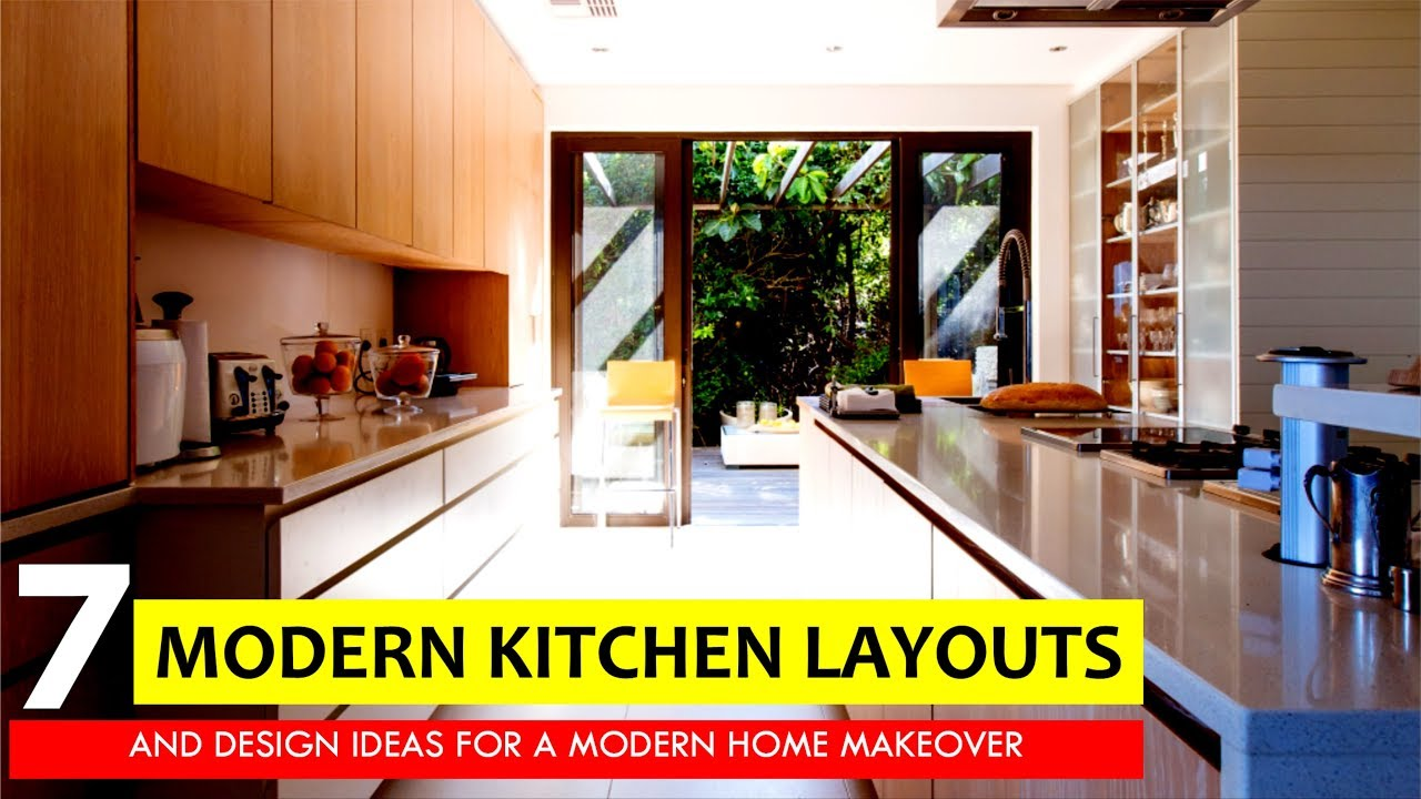 7 most popular kitchen layouts and floor plan design ideas for a