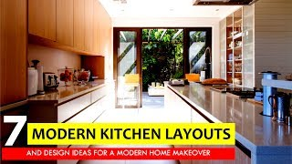 7 Most Popular Kitchen Layouts And Floor Plan Design Ideas For A Modern Home Makeover