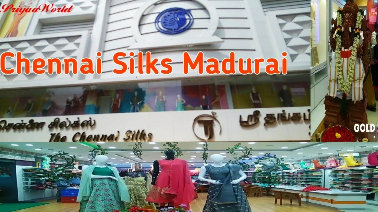 Madurai/The Chennai Silks/Sree Thangam Jewellery/Shopping  haul/PriyaaWorld#51