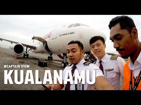 ( Capt VIEW - Eng ) Airbus A320 Medan Kualanamu Airport Familiarization Batik Air