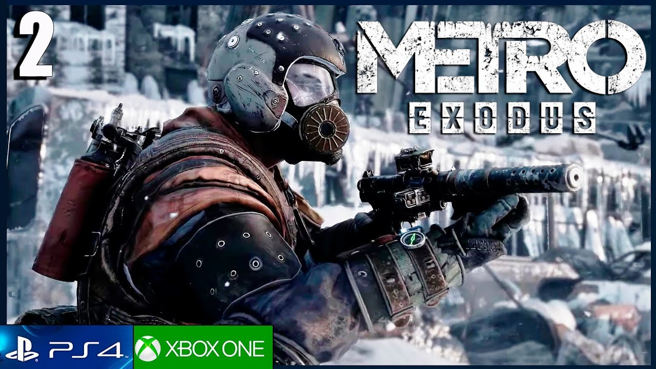 METRO EXODUS - Parte 2 Español Gameplay PS4 PRO | Capitulo 2 Invierno | Walkthrough