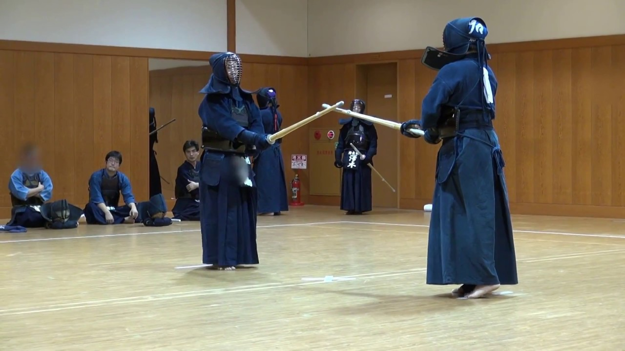 Private kendo shiai 7dan vs 7dan youtube for Kendo dojo locator