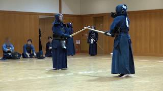 Private Kendo Shiai (7dan vs 7dan)