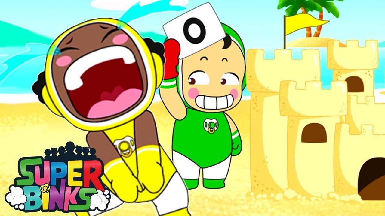 ¡Construyendo castillos de arena GIGANTES! 🏰 ⚡ Episodios completos de Super Binks 💥 Dibujos animad