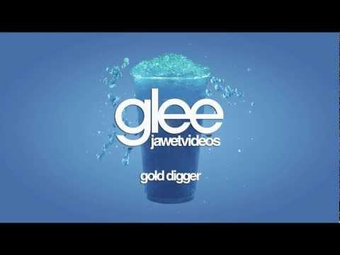 Glee Cast - Gold Digger (karaoke version)
