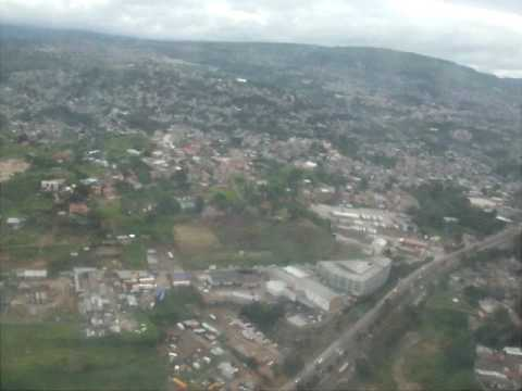 Delayed Take Off Tegucigalpa 6/28/2010