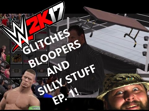 WWE 2k17 Glitches,Bloopers and silly...