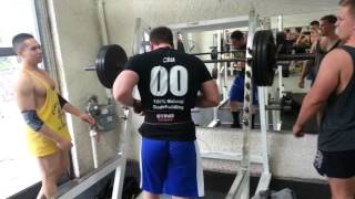 5th May 2013; 160kg Squat PB!