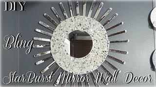 DIY STARBURST MIRROR WALL DECOR | DIY ROOM DECOR 2018 | DIY WALL DECOR IDEAS | PETALISBLESS