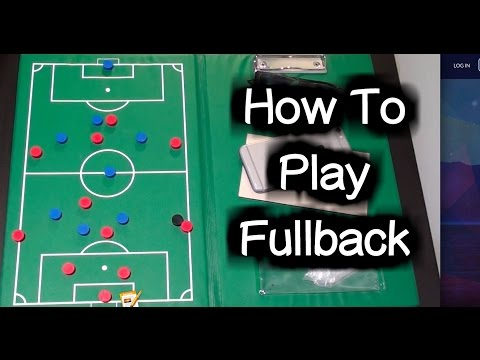 Fullback Tutorial (in possession) ► Soccer Positions / Football Positions