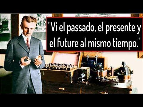"""Nikola Tesla y su Viaje en el Tiempo: """"Vi el pasado, el presente y el futuro al mismo tiempo."""""""