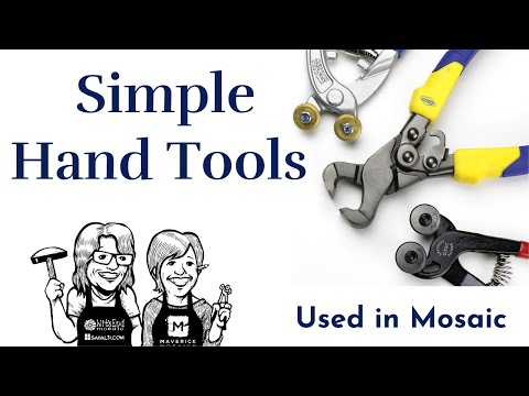 Simple Tools for Cutting Ceramic for Mosaic Video