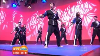 XTreme Team- Today Show Live Performance (Channel 9)