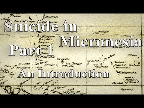 #1 An Introduction to Suicide in Micronesia┃Social Problems of Micronesia