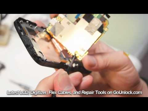 HTC Amaze 4G Rudy Screen Repair Disassemble Take Apart Video Guide