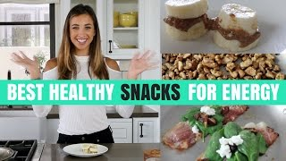 BEST HEALTHY SNACKS FOR ENERGY