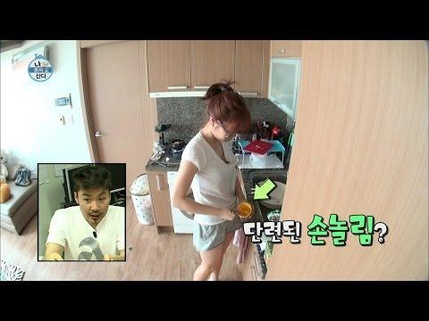 【TVPP】Soyou(SISTAR) - Secret Cooking Skills, 일어나자마자 찌개 끓이는 여자, 소유의 숨겨둔 요리 실력 @ I Live Alone