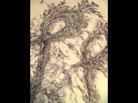 Yael - Pen Drawing - Hebrew Letters