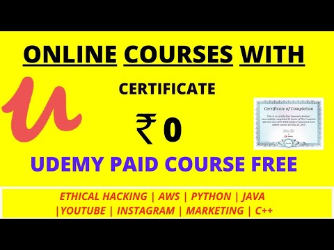 online-certificate-course-free- -udemy-course- -udemy-paid-course-free